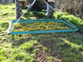 FRAMED Grass Harrow Combination Land Leveller